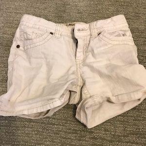 Mudd White Shorts